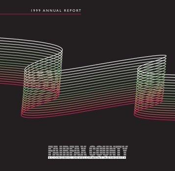 Annual Report 1999 - Fairfax County Economic Development Authority