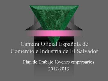 No. Actividad - Cámara Oficial Española de Comercio e Industria de ...