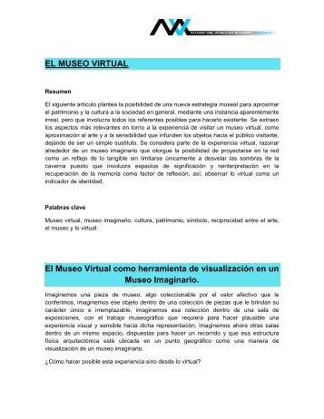 el museo virtual - Museo del vidrio de Bogotá