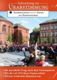 Heft zur studentischen Urabstimmung - webMoritz