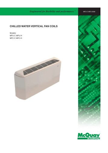 Vertical Hi Rise Fan Coil Unit Model Fs Technical Bulletin