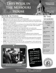April 1, 2011 - Missouri House of Representatives