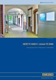 GEZE TS 3000 V / sistem TS 5000 - Info Market