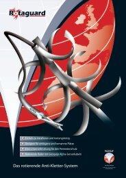 Rotaguard Produktbroschüre (pdf) - Geoquip
