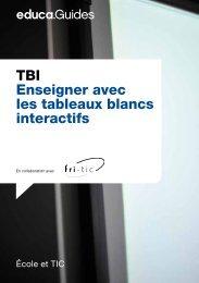 TBI Enseigner avec les tableaux blancs interactifs - Guides DE  - Educa