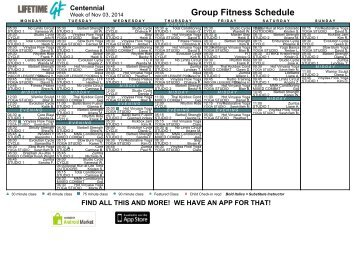 Group Fitness Clubname Life Time Scheduling