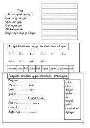 A, E, Ä° Sesleri (pdf, 87 KB)