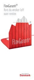 FlexGaranti® Hvis du ønsker loft over renten - Realkredit Danmark