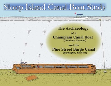 Sloop Island Canal Boat Study - Lake Champlain Maritime Museum