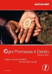 Ogni promessa è debito - ActionAid