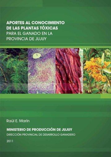 APORTES AL CONOCIMIENTO DE LAS PLANTAS TÓXICAS PARA ...
