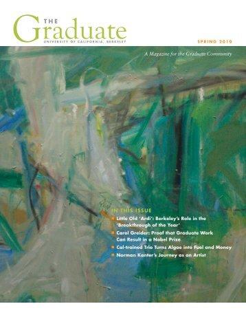 PDF: The Graduate magazine - UC Berkeley Graduate Division ...