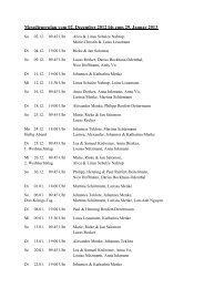 Messdienerplan vom 02. Dezember 2012 bis zum 29 ... - St. Petronilla