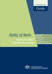 Ability at work (1.6 MB) - Australian Public Service Commission
