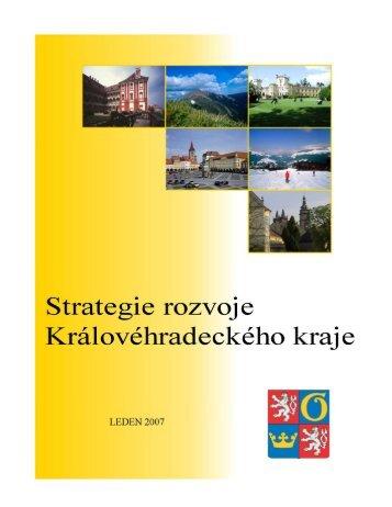 Strategie rozvoje kraje 2006 - 2015 - Královéhradecký kraj