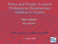 Policy and People - Tertiary Education Facilities Management ...