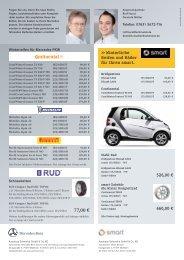 Winterliche Reifen und Räder für Ihren smart. 526,00 ... - Schmolck