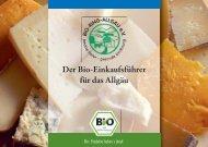 Der Bio-Einkaufsführer für das Allgäu - Bio-Ring Allgäu e.V.