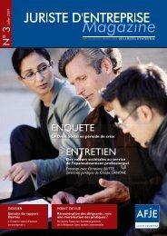 Téléchargez le magazine au format PDF. en cliquant sur ce lien - AFJE