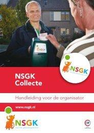NSGK Collecte - Nederlandse Stichting voor het Gehandicapte Kind