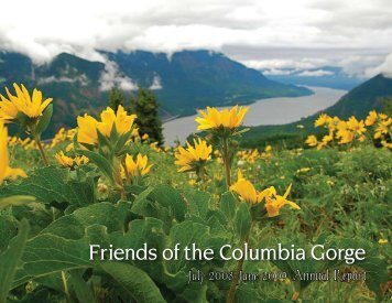 July 2008-June 2009 Annual Report - Friends of the Columbia Gorge