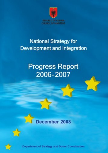 NSDI 2006-2007 Annual Progress Report