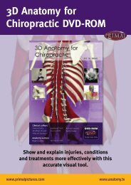 3D Anatomy for Chiropractic DVD-ROM