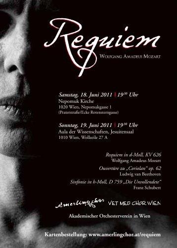 Samstag, 18. Juni 2011 | 19 30 Uhr Sonntag, 19. Juni 2011 | 19 30 ...