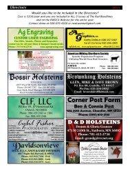 CLF, LLC - Red & White Dairy Cattle Association
