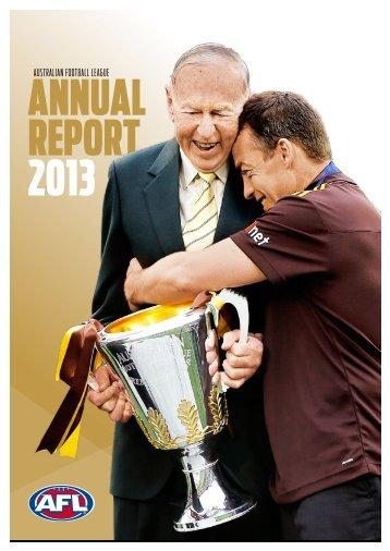 2013 AFL Annual Report