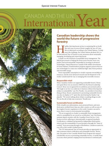 International - Forest Products Association of Canada