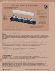 The Industry Standard for Electrical BusBars