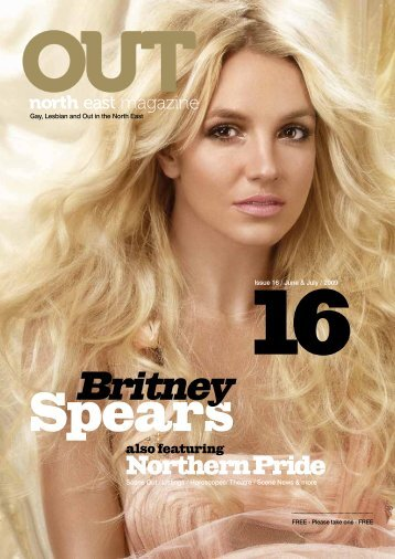 Britney Spears - out! northeast magazine