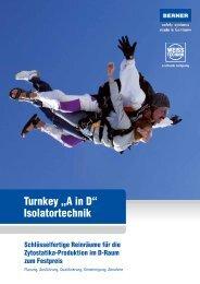 "Turnkey ""A in D"" Isolatortechnik - BERNER International GmbH"