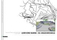 LEIRFJORD BARNE- Og uNgDOmsskOLE - Hageselskapet
