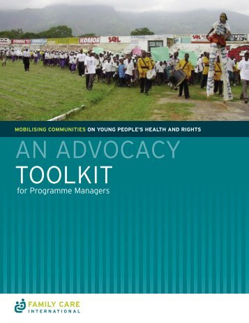 AN ADVOCACY TOOLKIT - Family Care International