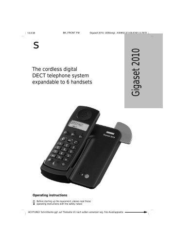 Gigaset 2010 - Telekomunikacije