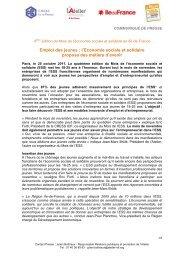 Emploi des jeunes : l'Economie sociale et solidaire ... - L'Atelier