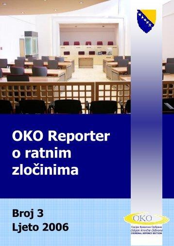 OKO WCR-SD-28.08.06(BCS).pub - Odsjek Krivične Odbrane