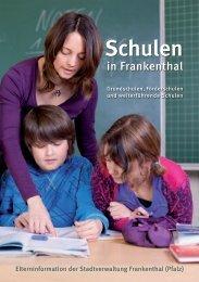 Schulen in Frankenthal - Stadt Frankenthal
