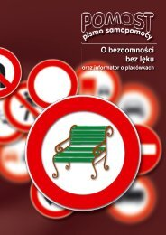 O bezdomności bez lęku - Pomorskie Forum na rzecz Wychodzenia ...