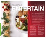 Foods That Entertain