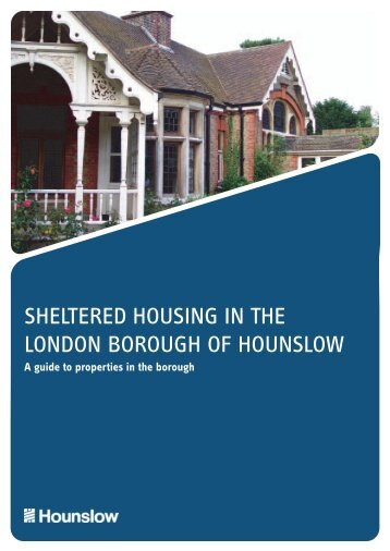 Sheltered housing in the London Borough of ... - Hounslow Homes
