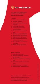 12 Wat te doen na een brand - Brandweer - Page 6