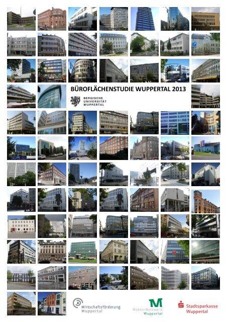 Büroflächenstudie - Wirtschaftsförderung Wuppertal
