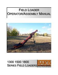 FIELD LOADER OPERATOR/ASSEMBLY MANUAL - Directrouter.com