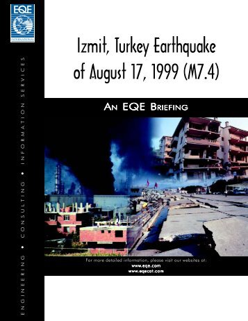 Izmit, Turkey Earthquake of August 17, 1999 (M7.4) - ABS Consulting