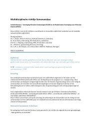 Multidisciplinaire richtlijn Semenanalyse - NVOG