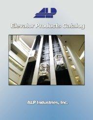 Elevator Catalog - ALP Industries Inc.