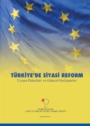 Türkiye'de Siyasi Reform - Avrupa Birliği Bakanlığı
